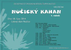 Plakát Nučický Kahan 2014