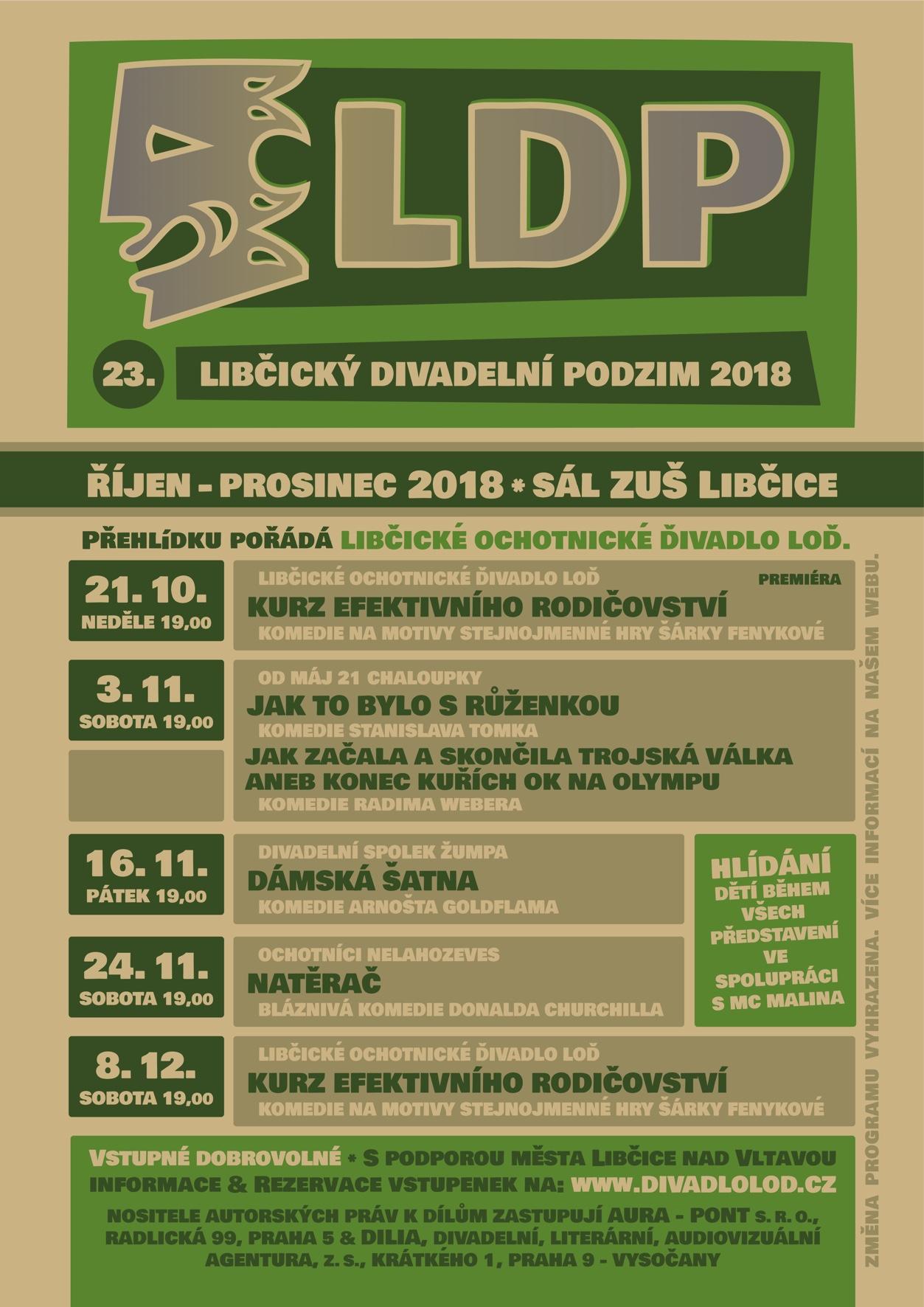 Plakát LDP 2018